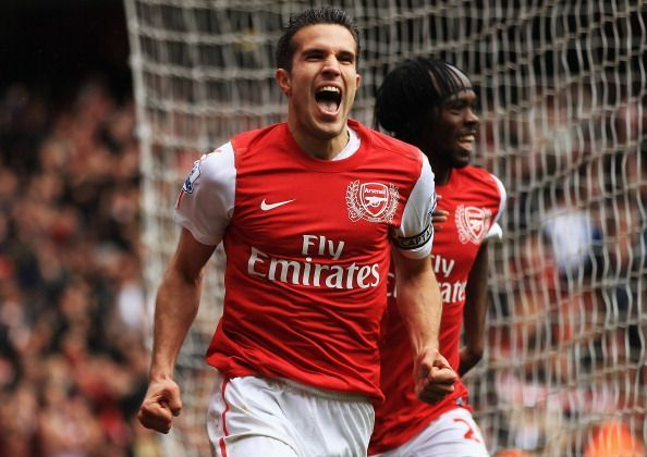 Robin van Persie was very successful at Manchester United