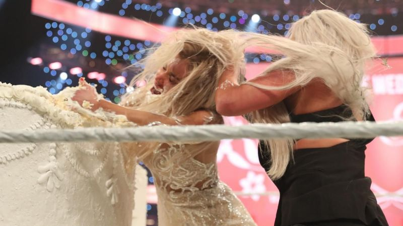 A wedding in WWE ending in chaos...who would