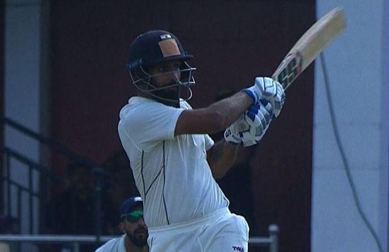 हनुमा विहारी ने आंध्रा के लिए अच्छी पारी खेली (Photo-Bcci)