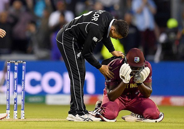 Brathwaite nearly pulled off a miraculous heist against New Zealand at the 2019 CWC