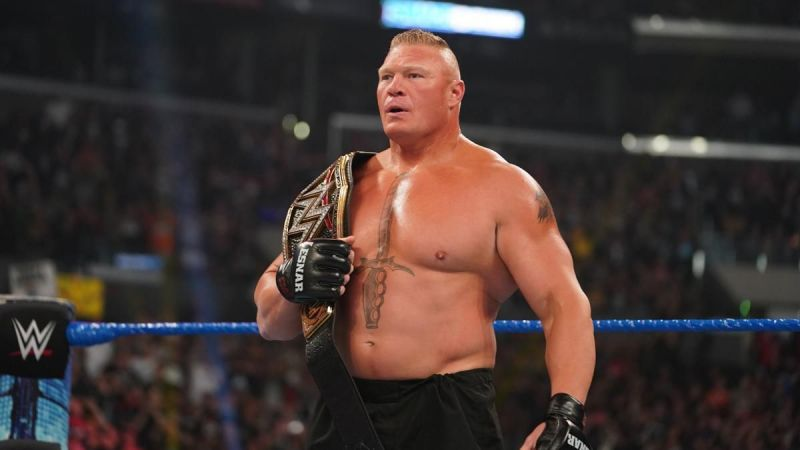 Lesnar defeated Kofi Kingston within seconds to win the WWE Championship
