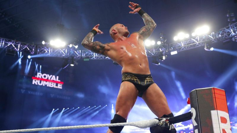 Randy Orton became the 5th person to win 2 Royal Rumble matches