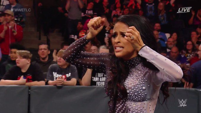 Zelina Vega and Andrade seem to have gone their separate ways