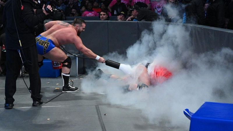 A lot of the fire of WWE TLC was extinguished