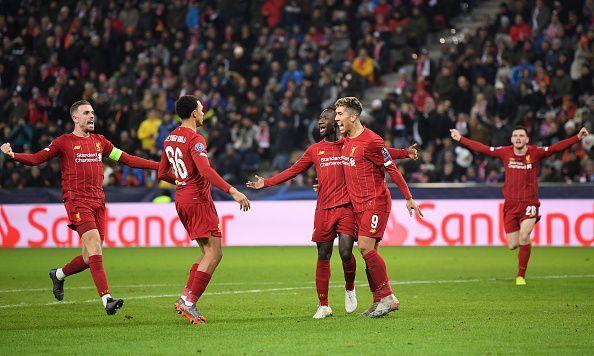 RB Salzburg v Liverpool FC: Group E - UEFA Champions League