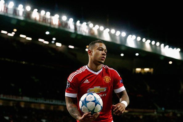 Memphis struggled for form during his time at Manchester United