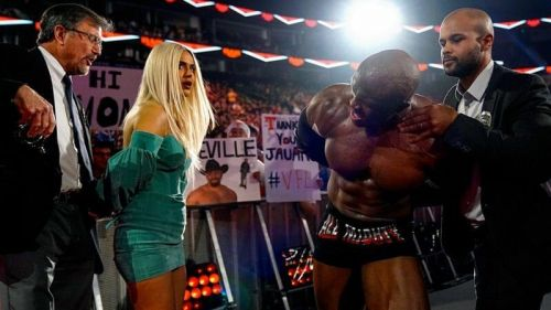 Lana and Lashley get arrested
