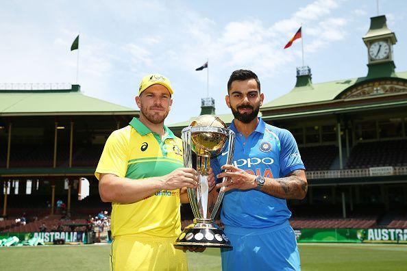 Australia v India ODI Series Captains Trophy