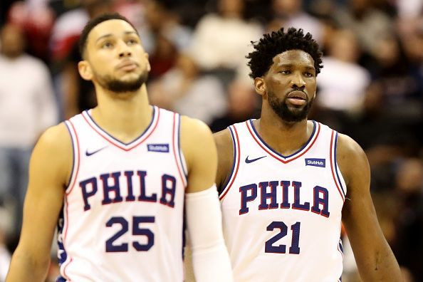 Philadelphia 76ers will be looking to end their three-game skid when they host the Washington Wizards
