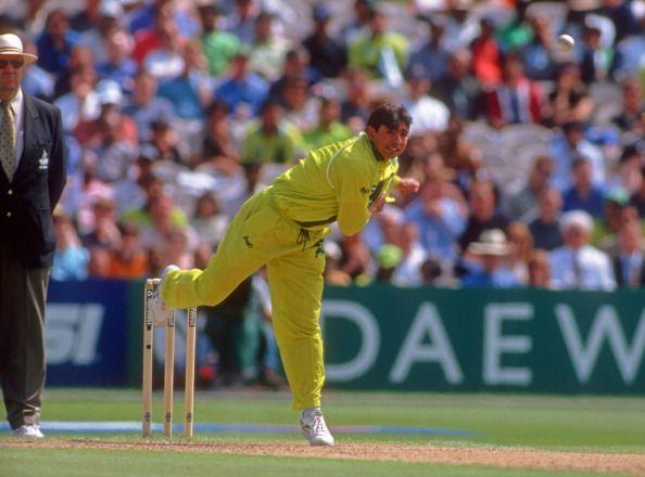 Saqlain Mushtaq was a prolific ODI wicket taker, bowling at the death