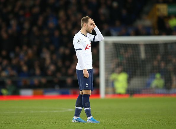 Could Christian Eriksen move to a Premier League rival in January?