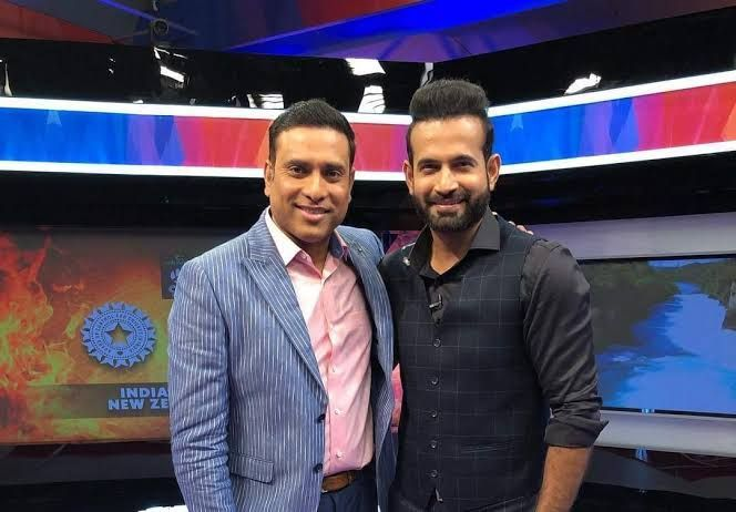 VVS Laxman (left) and Irfan Pathan (right)