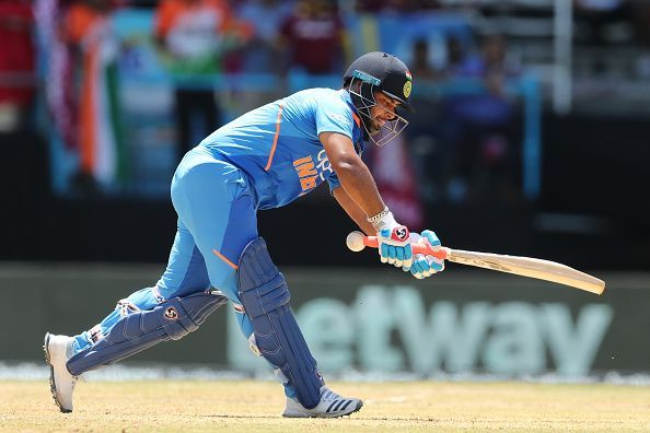 In the 1st ODI, by partnering up with Iyer, Pant rescued the team from a precarious position