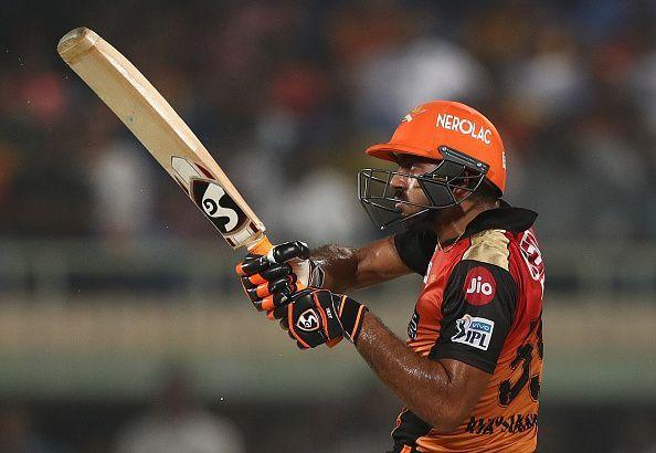 Vijay Shankar came up short in the final over