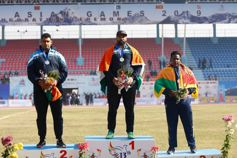 The Indian athletes ruled the roost in Nepal