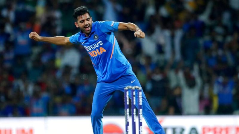 Deepak Chahar was ruled out of the third ODI against the West Indies
