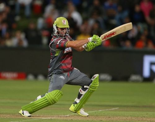 AB De Villiers has been in fine form for the Tshwane Spartans