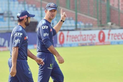 Ricky Ponting is the head coach of the Delhi Capitals.