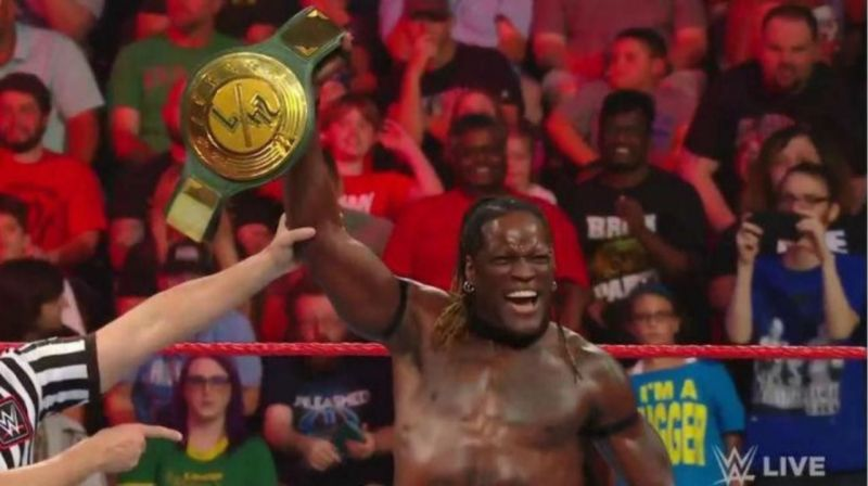 R-Truth won back the WWE 24/7 title from Kyle Busch after RAW