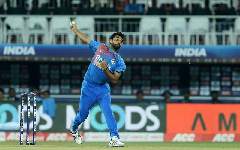 Bhuvneshwar Kumar went wicketless and gave away 36 runs from his four overs