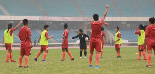 The Indian women's football team will aim to defend their gold medal at the South Asian Games 2019
