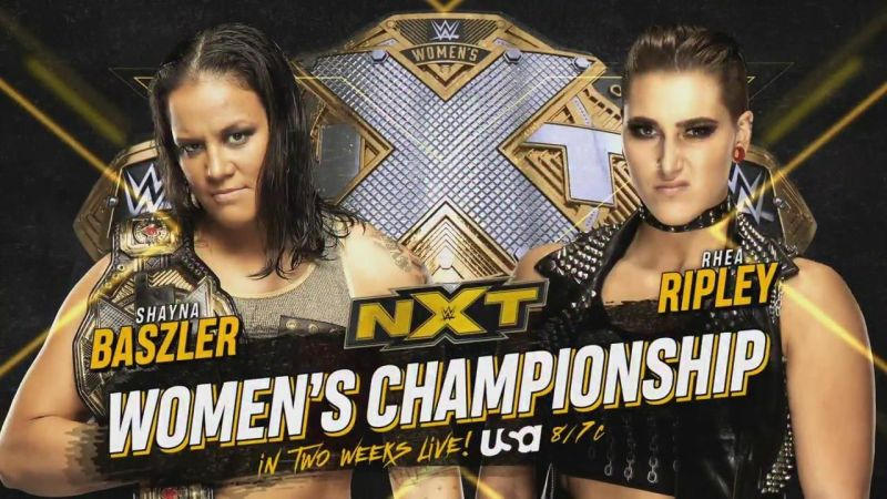Shayna Baszler to defend her NXT Women's Championship against Rhea Ripley