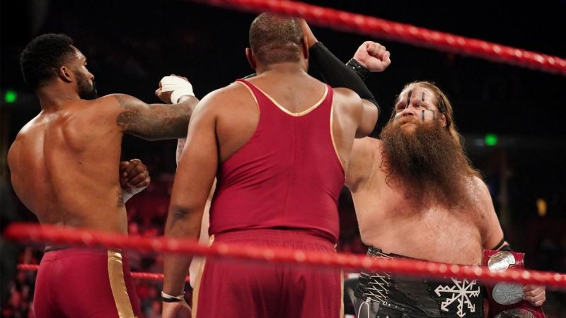 The Viking Raiders finally found good competition on RAW