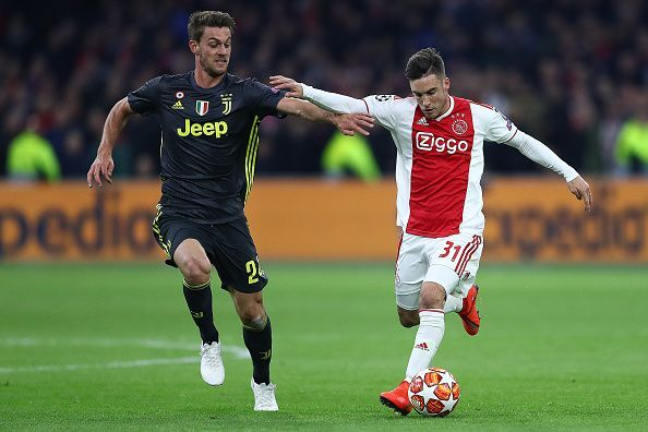 Daniele Rugani is out of favor at Juventus at the moment.