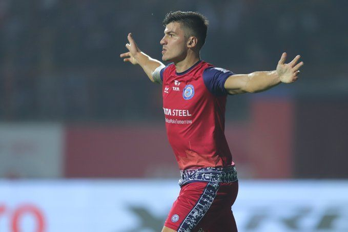 Castel put Jamshedpur ahead in the first half