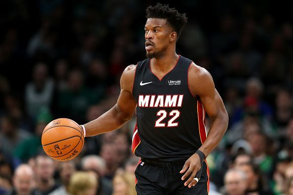 Butler is one of the seven Heat players averaging double digits in scoring.