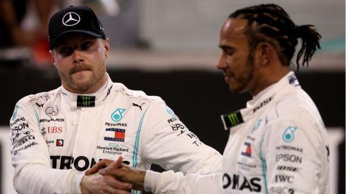 Bottas and Hamilton - Cropped