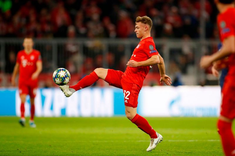Kimmich delivered another dependable display in central midfield