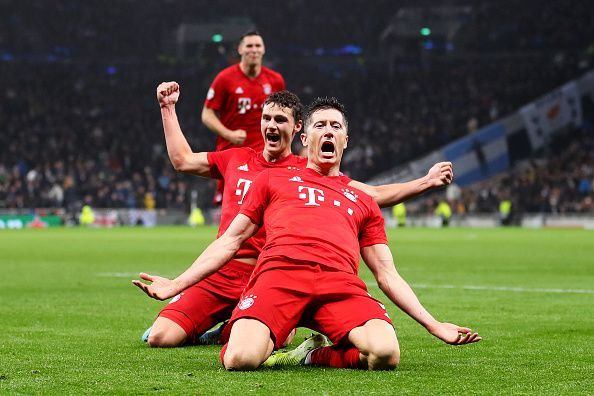 Bayern Munich have been in scary form in the Champions League this season