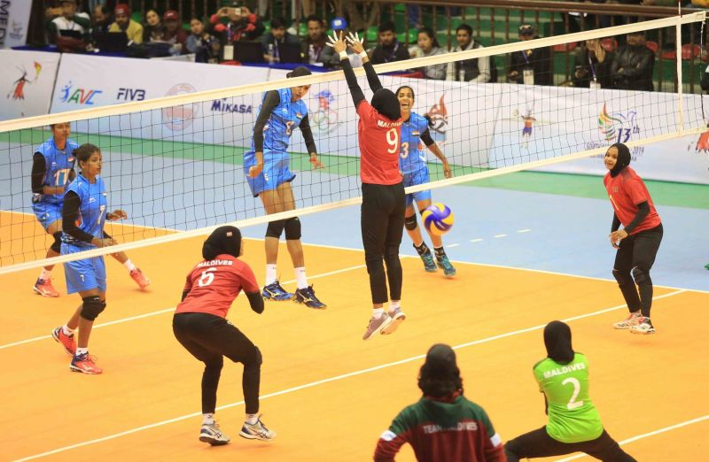 India defeated the Maldives in the first semi-final of women
