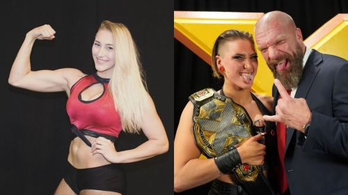 Wwe Nxt Champion Rhea Ripley Nightmare Becomes Reality