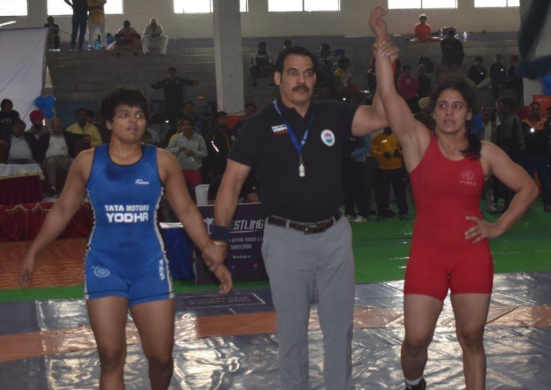 Anita defeated Divya Kakran