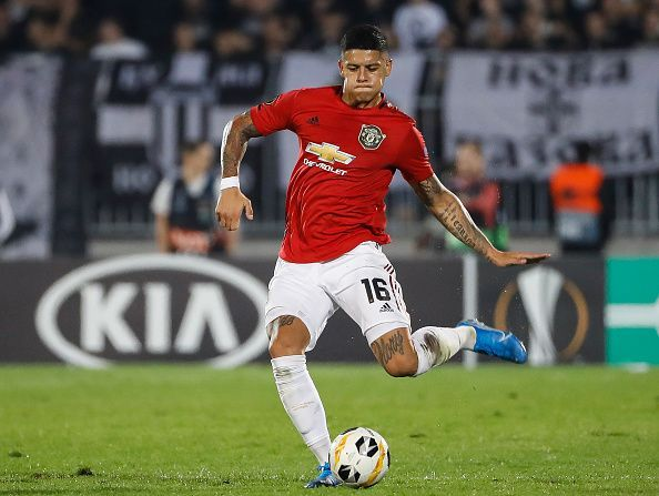 Marcos Rojo looks set to leave Manchester United in January