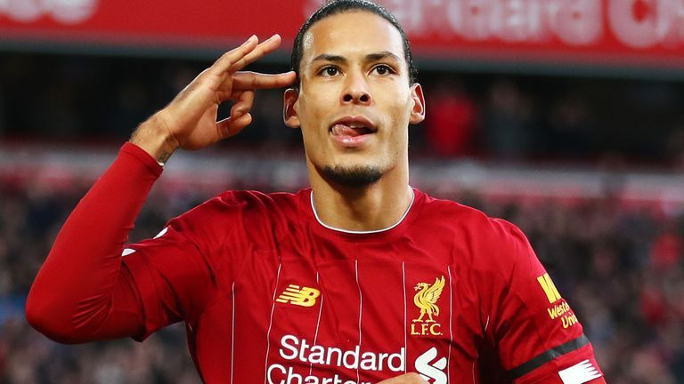 Virgil van Dijk finished second in the recently concluded Ballon d