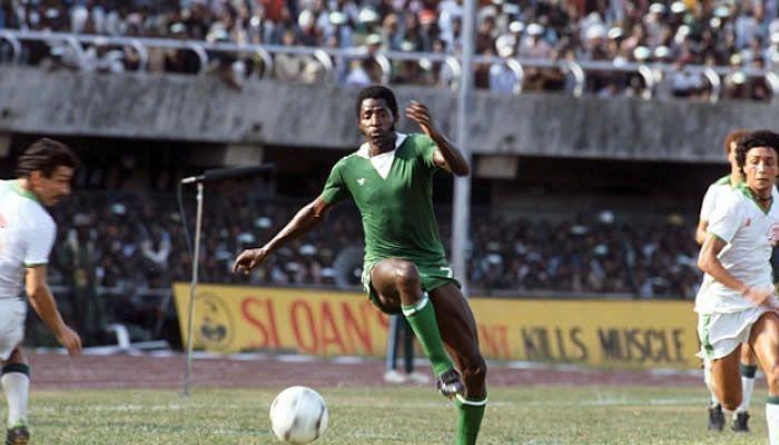 SeOdegbami in action for Nigeria