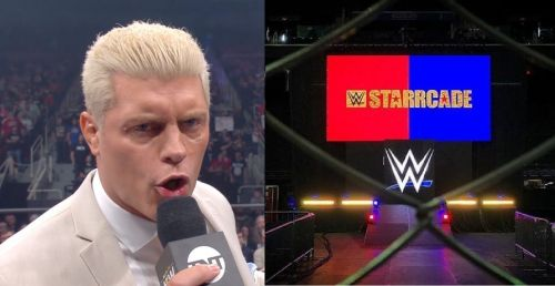 Cody Rhodes posted the tweet as a reaction to WWE Starrcade 2019, the idea of which was originally conceived by his father