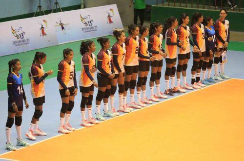 Sri Lanka Women's Volleyball team