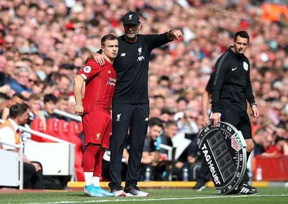 With a hectic schedule around the corner, Shaqiri