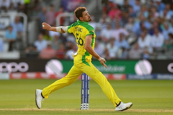 Mitchell Starc was the highest wicket-taker in the ICC World Cup, 2019 with 27 scalps