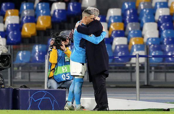 Callejon and Ancelotti