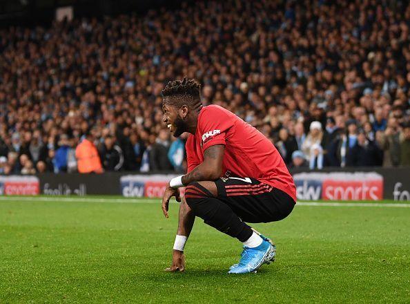 Manchester United midfileder Fred