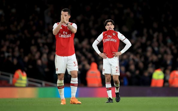 Arsenal succumbed to another defeat