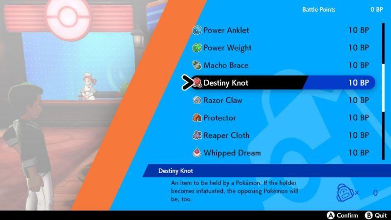 Image result for destiny knot pokemon sword