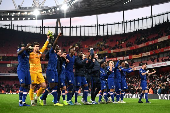 Chelsea picked up another crucial three points away in North London