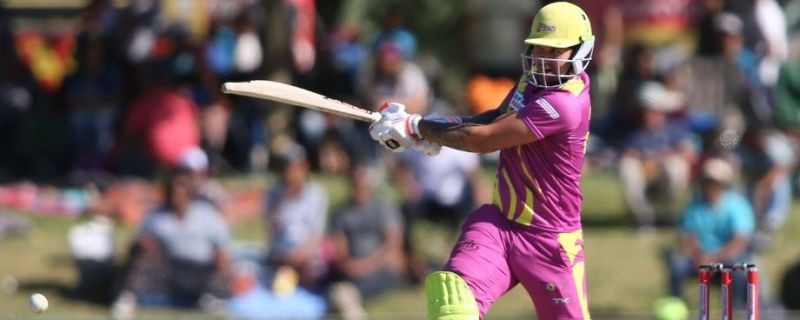 Cameron Delport provided a strong start for the Paarl Rocks in the first innings