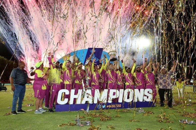 Paarl Rocks finished as the champions of MSL 2019